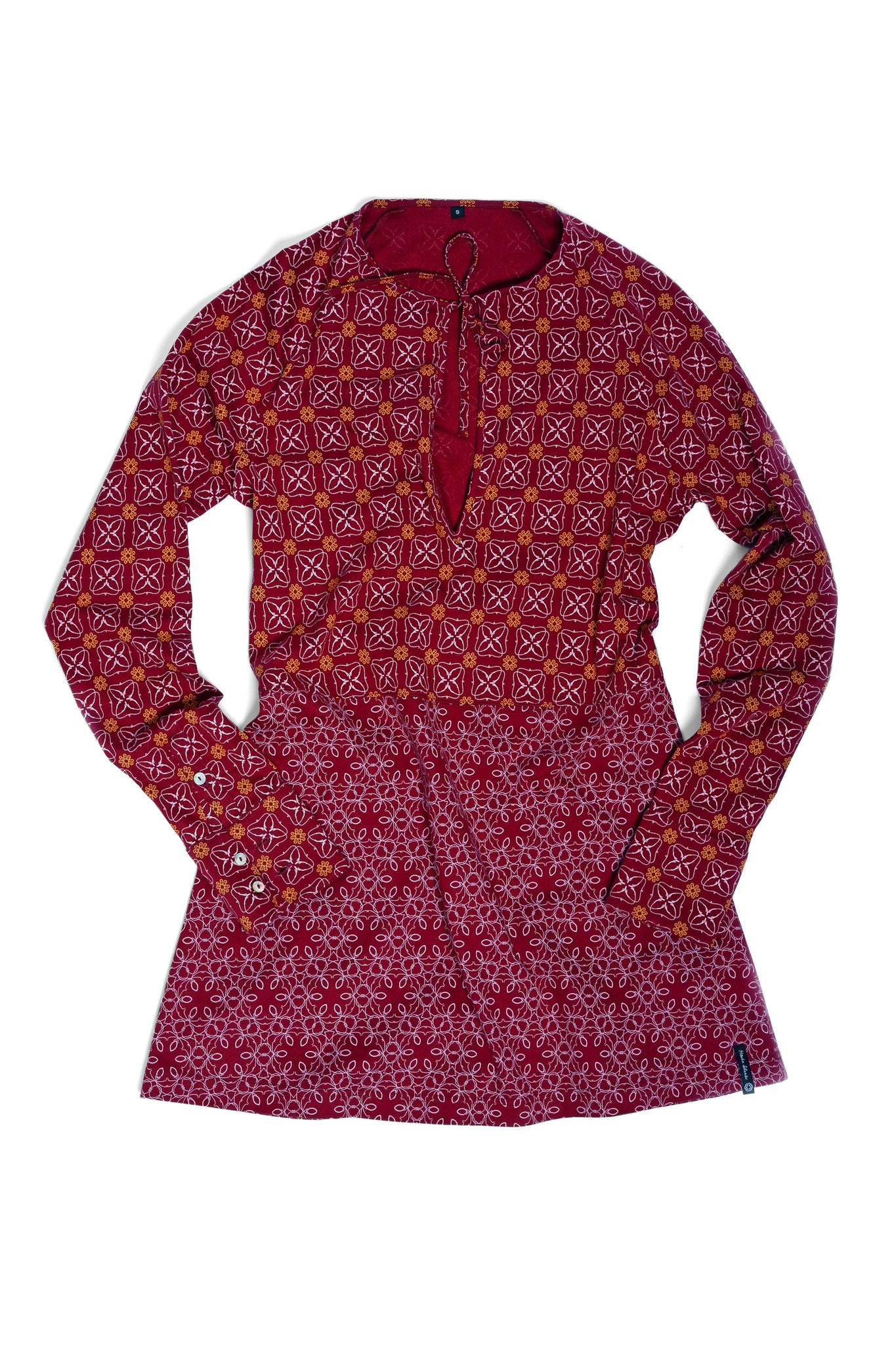 Bordeaux Long-Shirt langarm