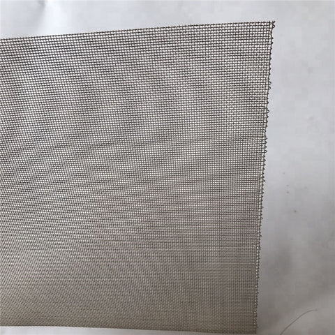 1 to 100 micron fine stainless steel woven wire mesh for window screen on China WDMA