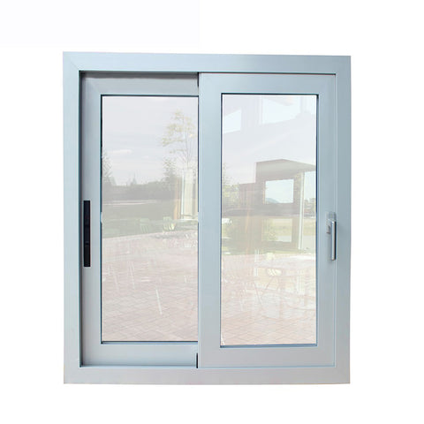 100mm frame aluminium frame tempered glass window lowe double glass sliding windows doors for sale with AS2047 on China WDMA