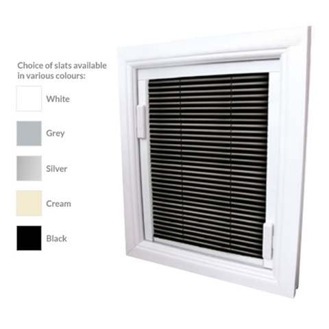 16mm Aluminum Integrated blinds for double glazed windows on China WDMA