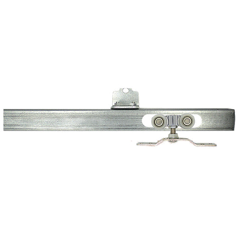 2.4M*1.5MM Sliding Door Wheel Rail, Guide Hanger Door Floor Track For Barn Sliding Glide Door Rollers on China WDMA