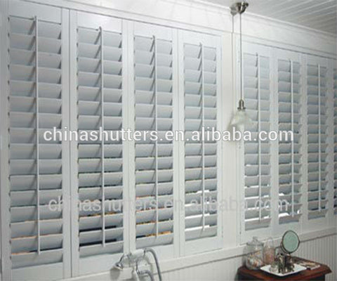 "2.5"" louvre patio door security shutters on China WDMA"