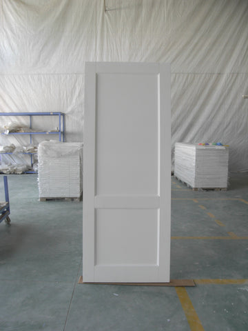 2 pane shaker style white bathroom bedroom wood door designs on China WDMA