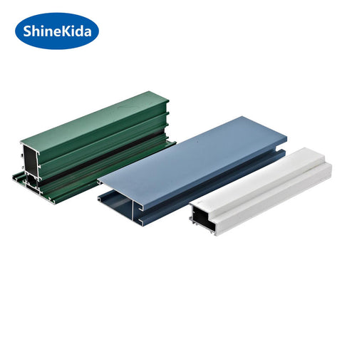 2 track aluminium sliding window sill section detail on China WDMA