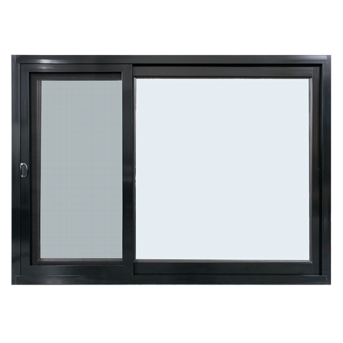 2016 New product sound insulation pvc /alu sliding glass window roller office interior sliding window on China WDMA