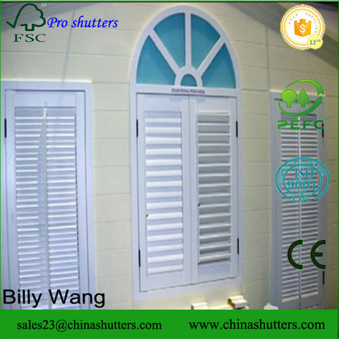 2016 best quality plantation windows and shutters pvc Miami on China WDMA