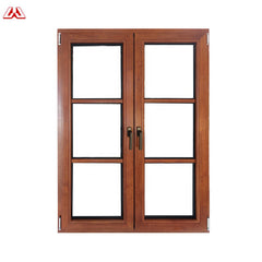 2017 New Material Commercial Price Thermal Break Plastic Fire Rated casement Plastic Steel Windows on China WDMA