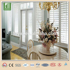 2017 hot sale Canopy faux wood blinds interior window shutters on China WDMA