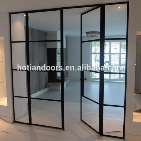 2017 popular sales steel windows made out of imported hot rolled steel new iron grill window door designs on China WDMA