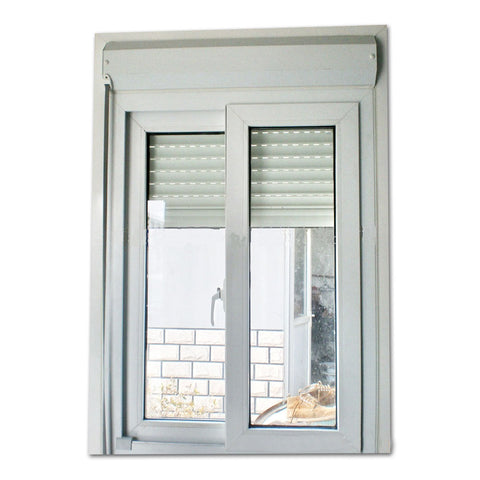2018 factory hot sale upvc louvre windows cheap price pvc mosquito net windows and doors on China WDMA