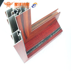 2018 latest design aluminum frame bow window with tempered glass on China WDMA