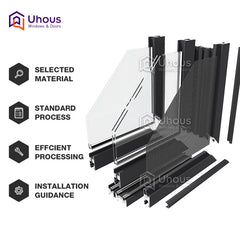 2018 latest windows designs foshan manufacturer aluminium screen windows on China WDMA