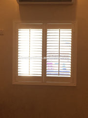 2019 China Exterior Security Window Wooden Shutters Wood Plantation Shutters on China WDMA