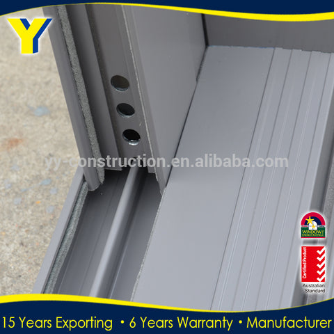 2019 High quality automatic electric locks china manufacturer glass aluminum sliding door on China WDMA