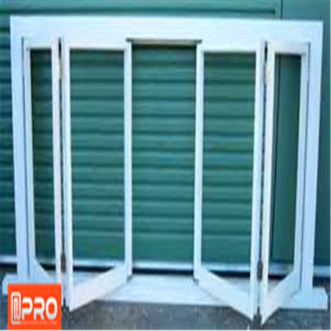 2020 high quality and Best price sound proof Aluminium Windows bifold glass window screens on China WDMA
