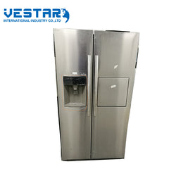 220V 50Hz refrigerator side by side door fridge freezer with 480L double door refrigerator on China WDMA