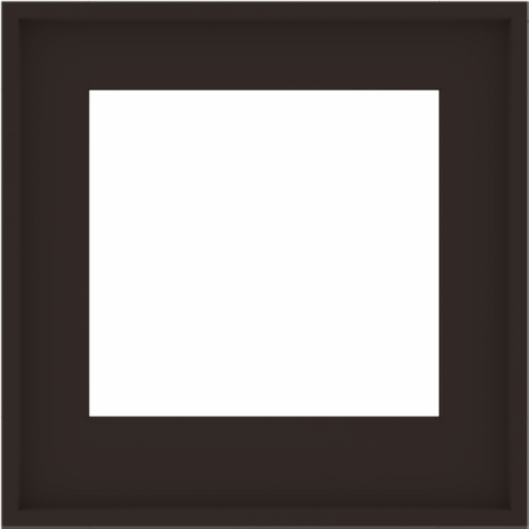 WDMA 24x24 (23.5 x 23.5 inch) Composite Wood Aluminum-Clad Picture Window without Grids-6