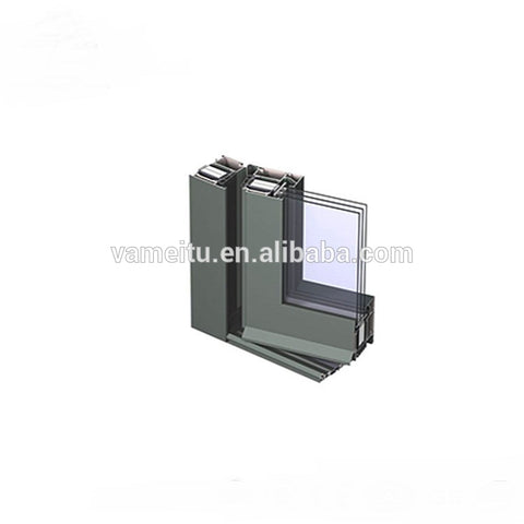 28mm 30.5mm Thickness Double Glazed Casement Aluminum Profile Doors And Windows
