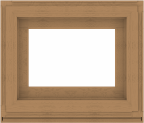 WDMA 28x24 (27.5 x 23.5 inch) Composite Wood Aluminum-Clad Picture Window without Grids-1