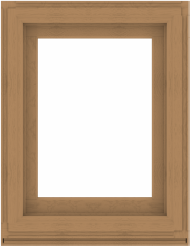 WDMA 28x36 (27.5 x 35.5 inch) Composite Wood Aluminum-Clad Picture Window without Grids-1