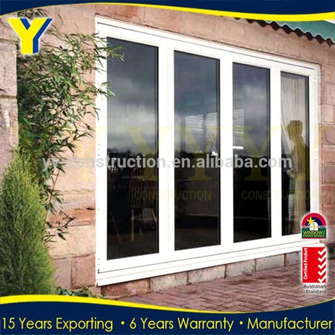 3 panel french patio doors /garage door side /double pane sliding glass doors on China WDMA