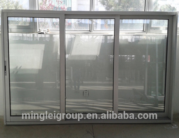 3 tracks aluminium triple sliding window price on China WDMA