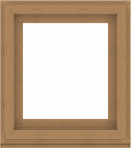 WDMA 32x36 (31.5 x 35.5 inch) Composite Wood Aluminum-Clad Picture Window without Grids-1