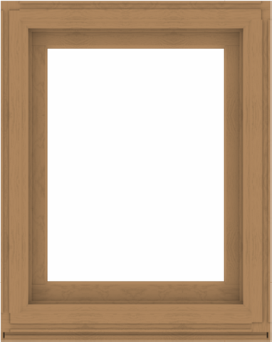 WDMA 32x40 (31.5 x 39.5 inch) Composite Wood Aluminum-Clad Picture Window without Grids-1