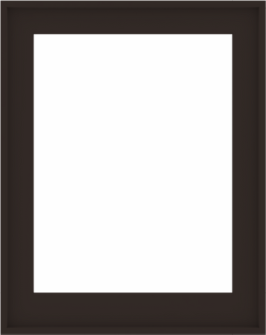 WDMA 32x40 (31.5 x 39.5 inch) Composite Wood Aluminum-Clad Picture Window without Grids-6