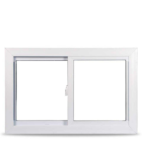 36x24 Sliding Window White Vinyl With Buck Frame