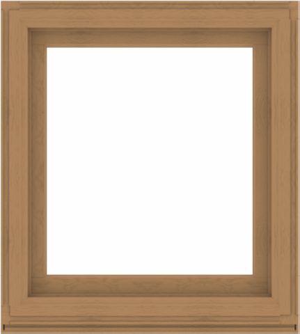 WDMA 36x40 (35.5 x 39.5 inch) Composite Wood Aluminum-Clad Picture Window without Grids-1
