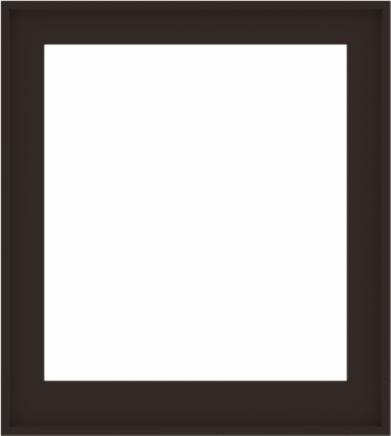 WDMA 36x40 (35.5 x 39.5 inch) Composite Wood Aluminum-Clad Picture Window without Grids-6