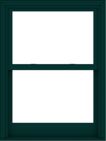 WDMA 36x48 (35.5 x 47.5 inch)  Aluminum Single Hung Double Hung Window without Grids-5