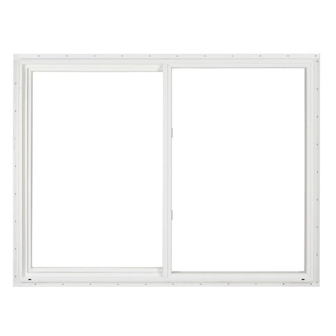 36x48 White Color Vinyl Pvc Upvc Vinyl Sliding Windows