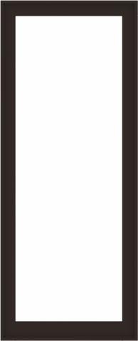WDMA 36x88 (35.5 x 87.5 inch) Composite Wood Aluminum-Clad Picture Window without Grids-6