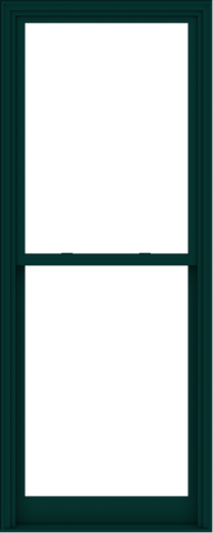 WDMA 36x90 (35.5 x 89.5 inch)  Aluminum Single Hung Double Hung Window without Grids-6