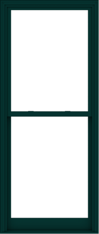 WDMA 38x90 (37.5 x 89.5 inch)  Aluminum Single Hung Double Hung Window without Grids-6
