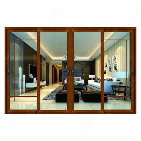 4 panel bullet proof sliding glass patio doors pakistan on China WDMA