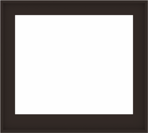 WDMA 40x36 (39.5 x 35.5 inch) Composite Wood Aluminum-Clad Picture Window without Grids-6