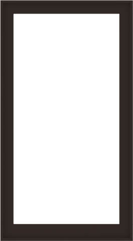 WDMA 40x72 (39.5 x 71.5 inch) Composite Wood Aluminum-Clad Picture Window without Grids-6