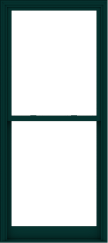WDMA 40x90 (39.5 x 89.5 inch)  Aluminum Single Hung Double Hung Window without Grids-5
