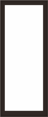 WDMA 40x96 (39.5 x 95.5 inch) Composite Wood Aluminum-Clad Picture Window without Grids-6