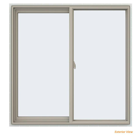 48x48 47.5x47.5 Window Vinyl Sliding With Fiberglass Mesh Screen