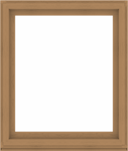 WDMA 48x56 (47.5 x 55.5 inch) Composite Wood Aluminum-Clad Picture Window without Grids-1