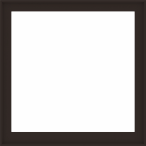 WDMA 52x52 (51.5 x 51.5 inch) Composite Wood Aluminum-Clad Picture Window without Grids-6