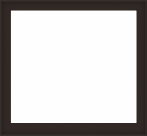 WDMA 56x52 (55.5 x 51.5 inch) Composite Wood Aluminum-Clad Picture Window without Grids-6