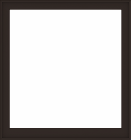 WDMA 56x60 (55.5 x 59.5 inch) Composite Wood Aluminum-Clad Picture Window without Grids-6