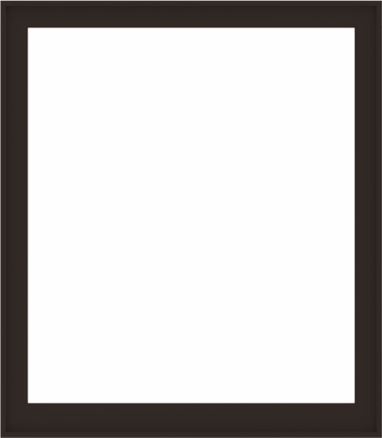 WDMA 56x64 (55.5 x 63.5 inch) Composite Wood Aluminum-Clad Picture Window without Grids-6