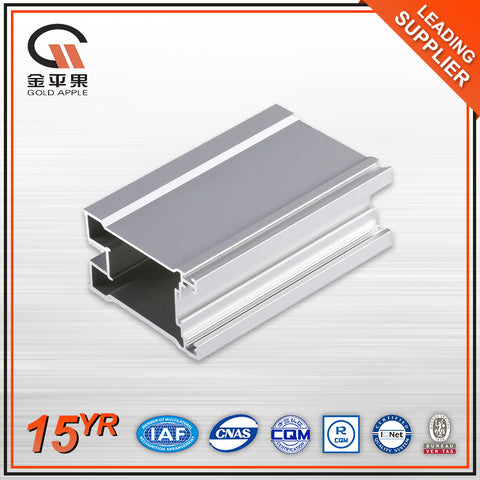 6000 series T4/T5/T6 electrophoresis slide and swing aluminum profile frame price for doors and windows on China WDMA