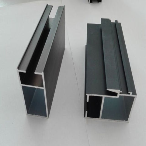 6061 Extruded Aluminum U H T shape for aluminum sliding window track channel door frame on China WDMA